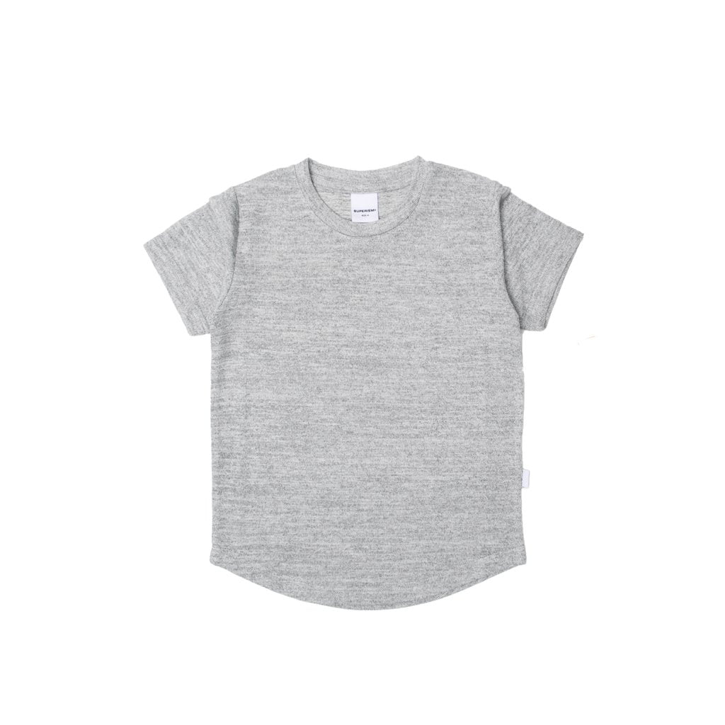 Kids- Landon - grey tee