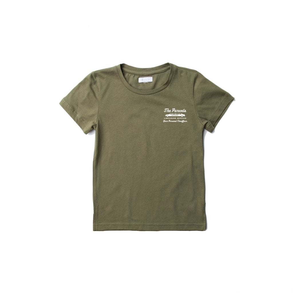 Superism- The Parents tee/ olive