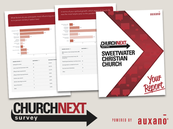 ChurchNext Survey Backstage Pass