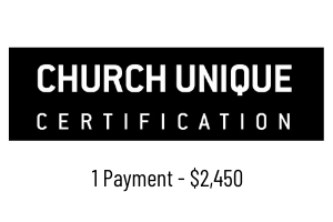 Church Unique Certification - 1C