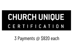 Church Unique Certification - 3C