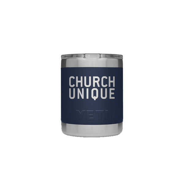 Church Unique 10oz Yeti w/Mag Slide Lid (limit 6)