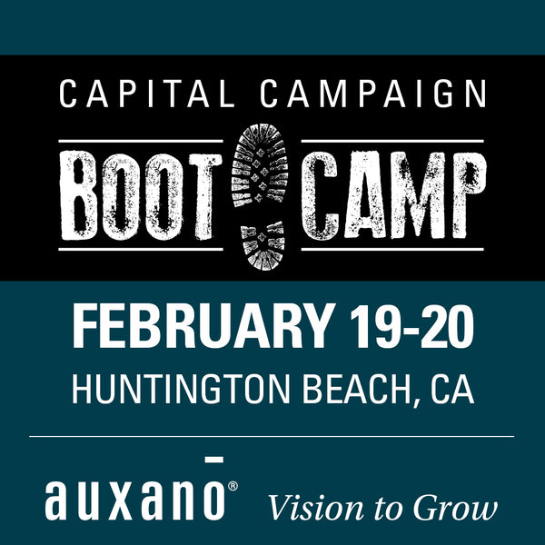 Capital Campaign Boot Camp 2020