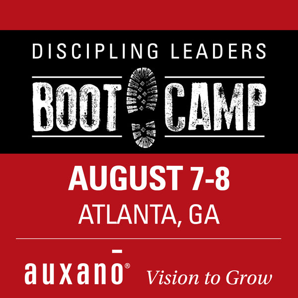 Discipling Leaders Boot Camp 2 - August 7-8, 2019