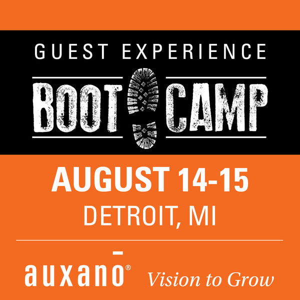 Guest Experience Boot Camp 3 - Detroit