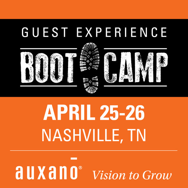 Guest Experience Boot Camp 2 - Nashville