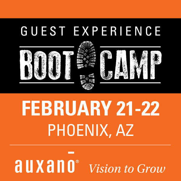 Guest Experience Boot Camp 1 - Phoenix
