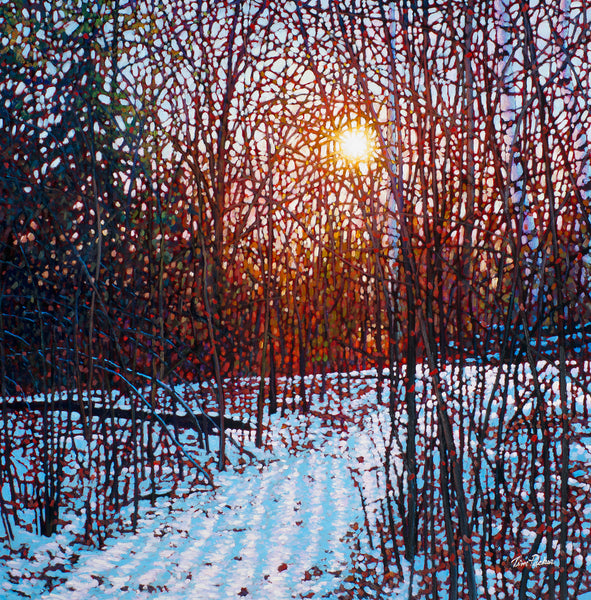 "December Morning 30"" by 30"""