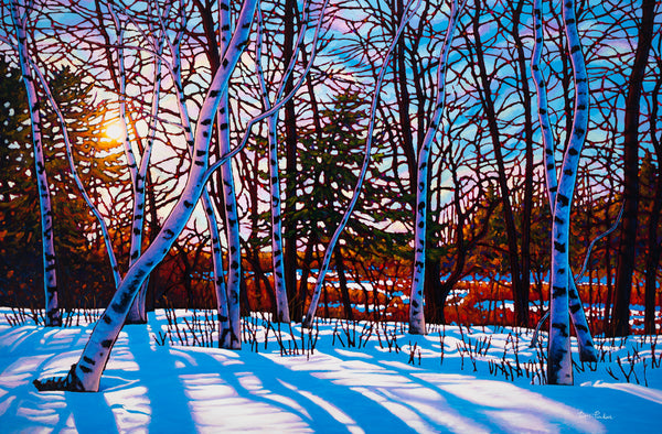 "A Walk in the Woods, Lynde Marsh 38"" by 57"""