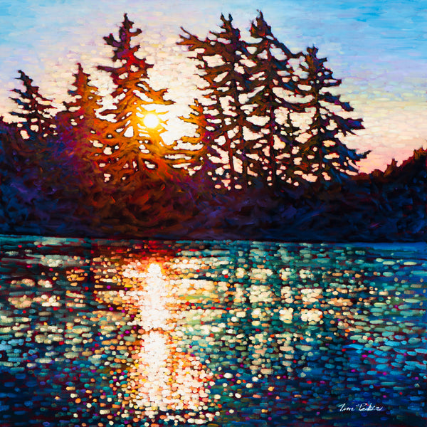 "Killarney Sunrise 30"" by 30"""