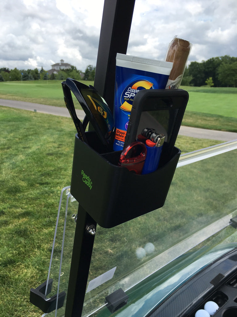 Ready Caddy - The Portable Golf Cart Organizer