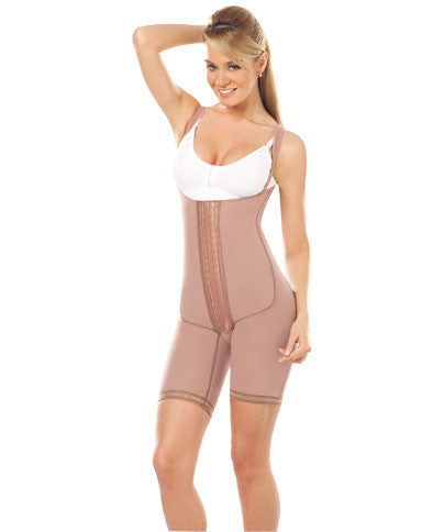 Body Girdle W/Removable Suspenders (10111)