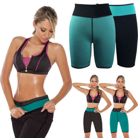 Neoprene Sweat Out Shorts - Women
