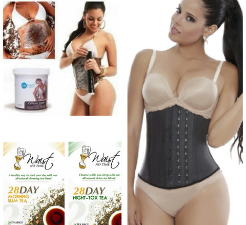 Super Weight Loss Bundle - 3 Row Aggressive Latex Waist-trainer