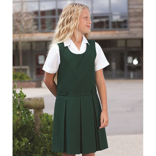 Banner Tenby Double Box Pleat Pinafore (3701)