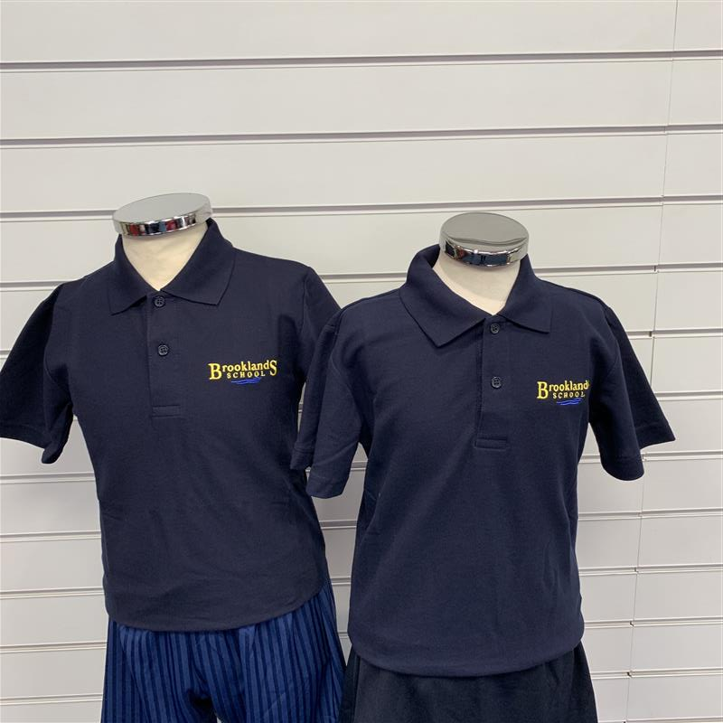 Brooklands School PE Polo Shirt