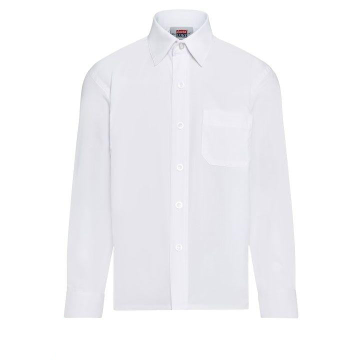 DL50 White Long Sleeve Shirt