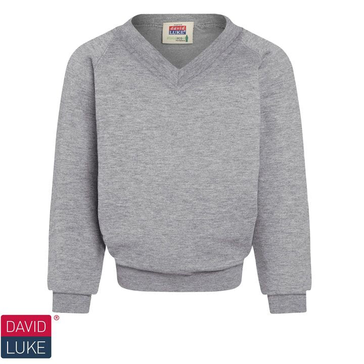David Luke Eco V-Neck Sweatshirt (DL865)