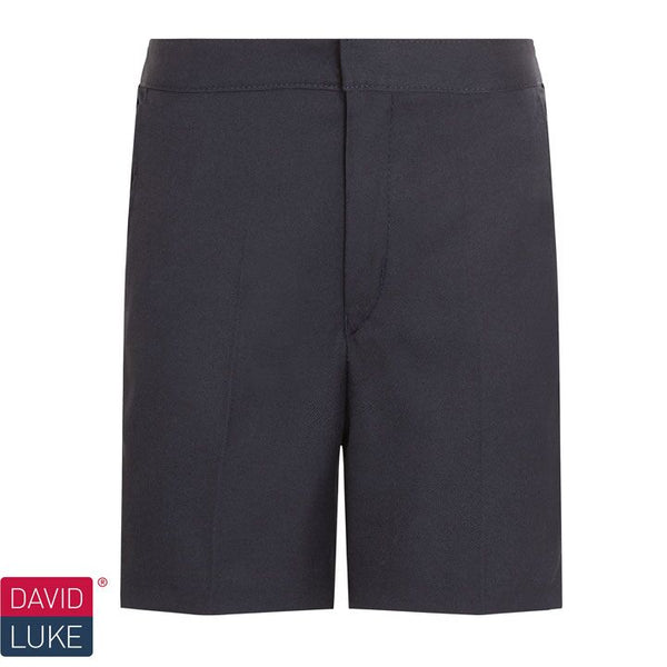 David Luke Junior Flat Front Classic Shorts (DL946)