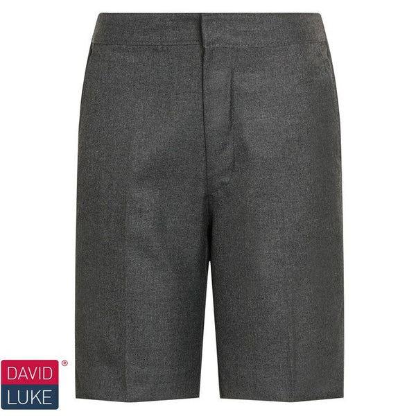 David Luke Junior Flat Front Bermuda Length Shorts (DL947)