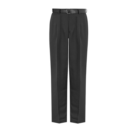 David Luke, Senior Single Pleated, Regular Fit Trousers (DL957)