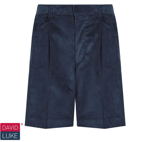 David Luke DL964 Corduroy Bermuda Shorts