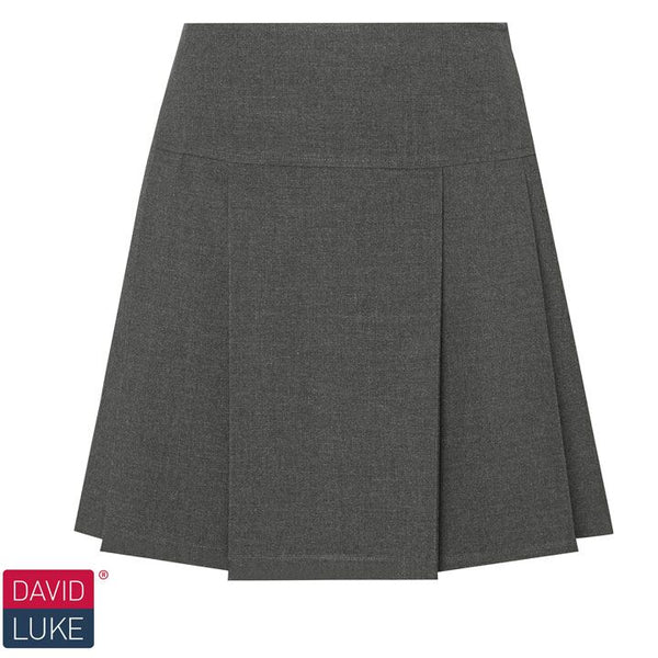 David Luke Senior Drop Waist Pleated Skirt (DL973)
