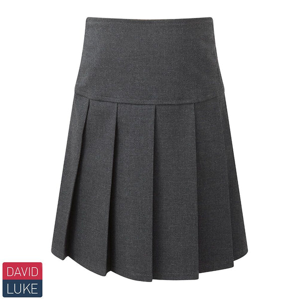 David Luke DL977 Skirt Grey