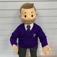 Heathwood Lower School Purple Jumper