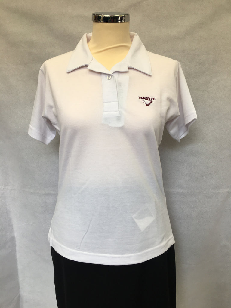 Vandyke Upper School Girls Fitted Polo Shirt