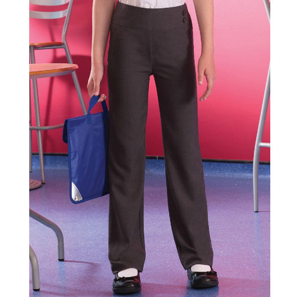 Banner Girls Trouser with Deep Waistband