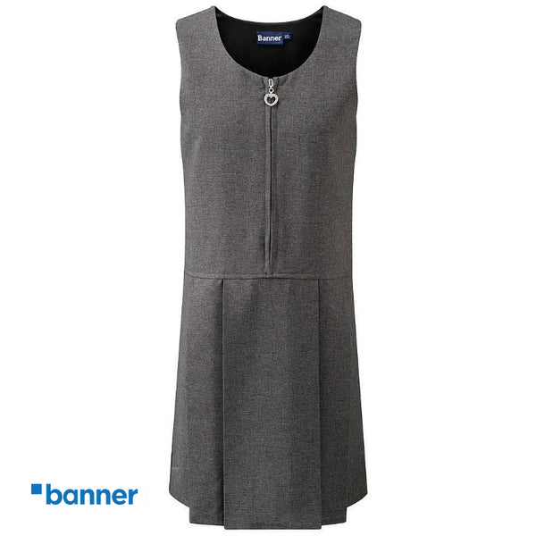 Banner Lynton Pleated Pinafore Dress (3704)