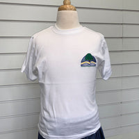 Overstone School PE White T-Shirt with logo