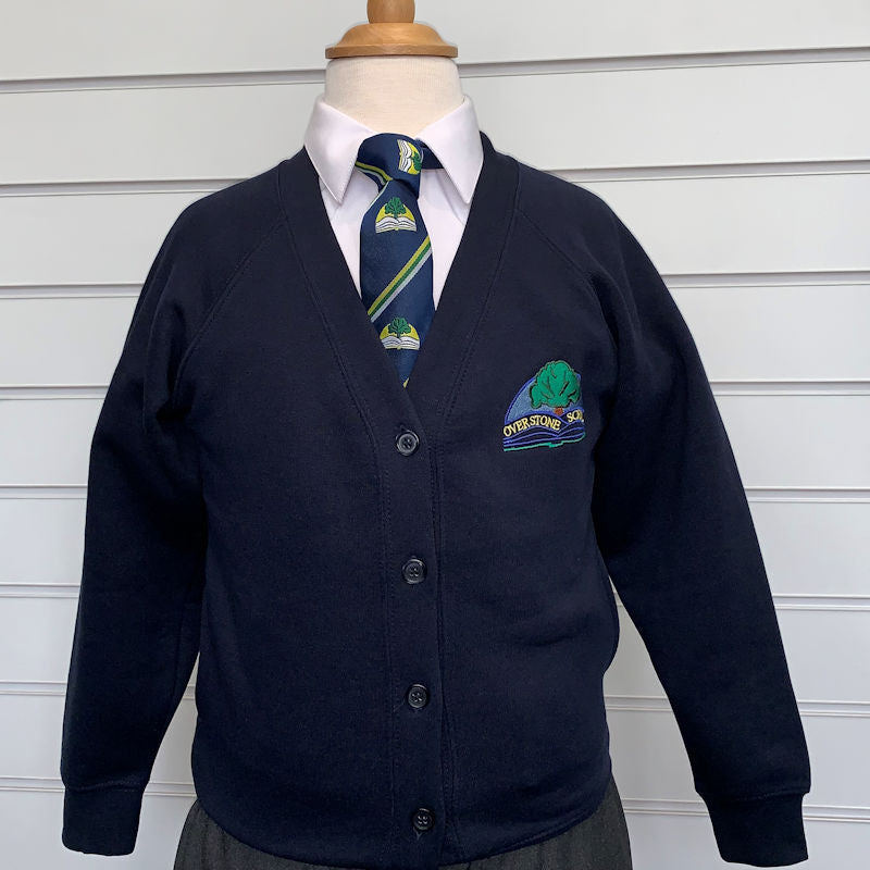 Overstone School Sweat-Cardigan