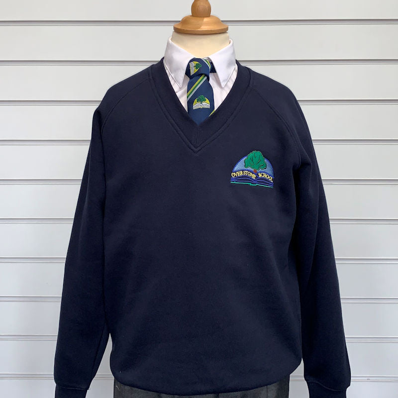 Overstone School V-Neck Sweatshirt