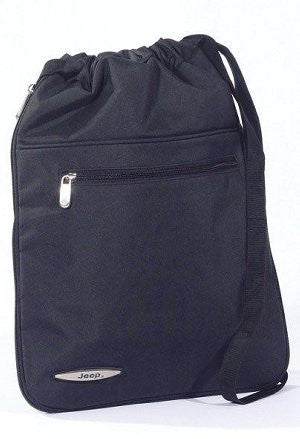 Jeep Expandable Drawstring Backpack