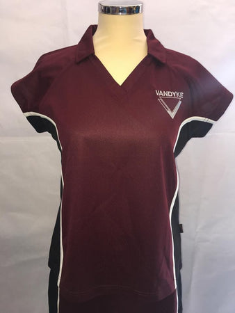Vanydke Upper School Girls Fitted PE Top