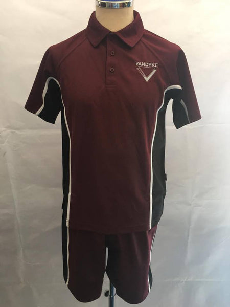 Vandyke Upper School Panelled PE Shorts