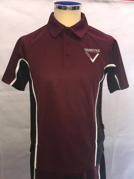 Vandyke Upper School Unisex PE Polo Shirt