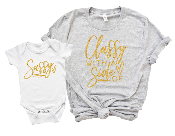 Mommy and Me Shirts, Mother Daughter, Mommy and Me Set,Sassy Mom Shirt, Mothers Day Gift, Mommy gift, Mom Gift, Mothers Gift, Baby Gift