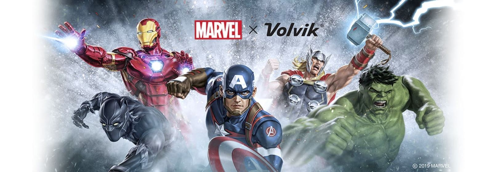 MARVEL bottom banner Volvik balls - 2020