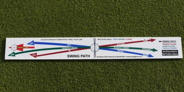 Perfect Swing Path Board shot shaping - Ned Martin
