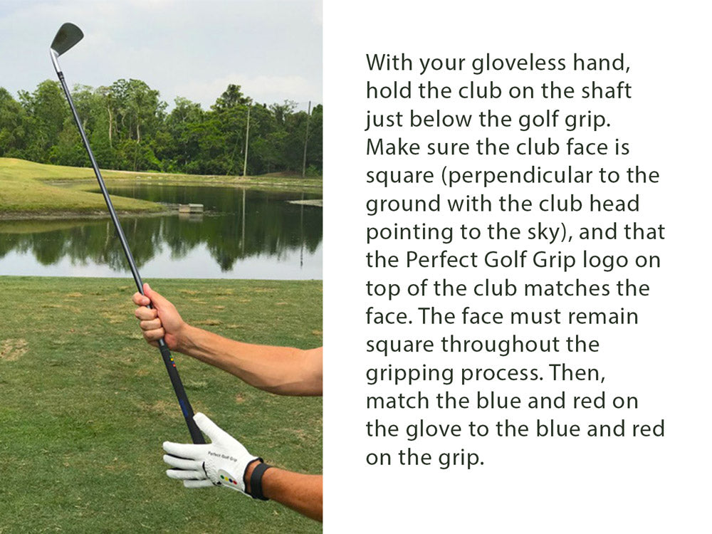 Perfect Golf Grip - grip and glove - golf training aid 2019