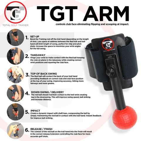 Total Golf Trainer Arm - TGT ARM - New Version