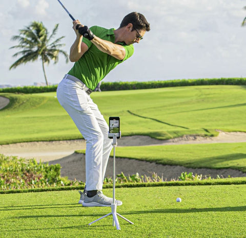 Caddie View with Swing Analysis App