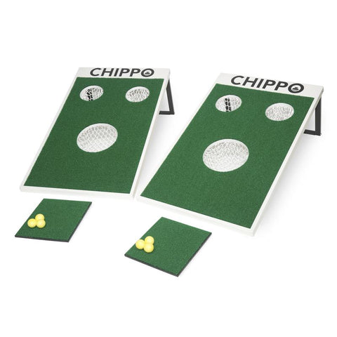 CHIPPO Golf Backyard Tailgate Cornhole Game!