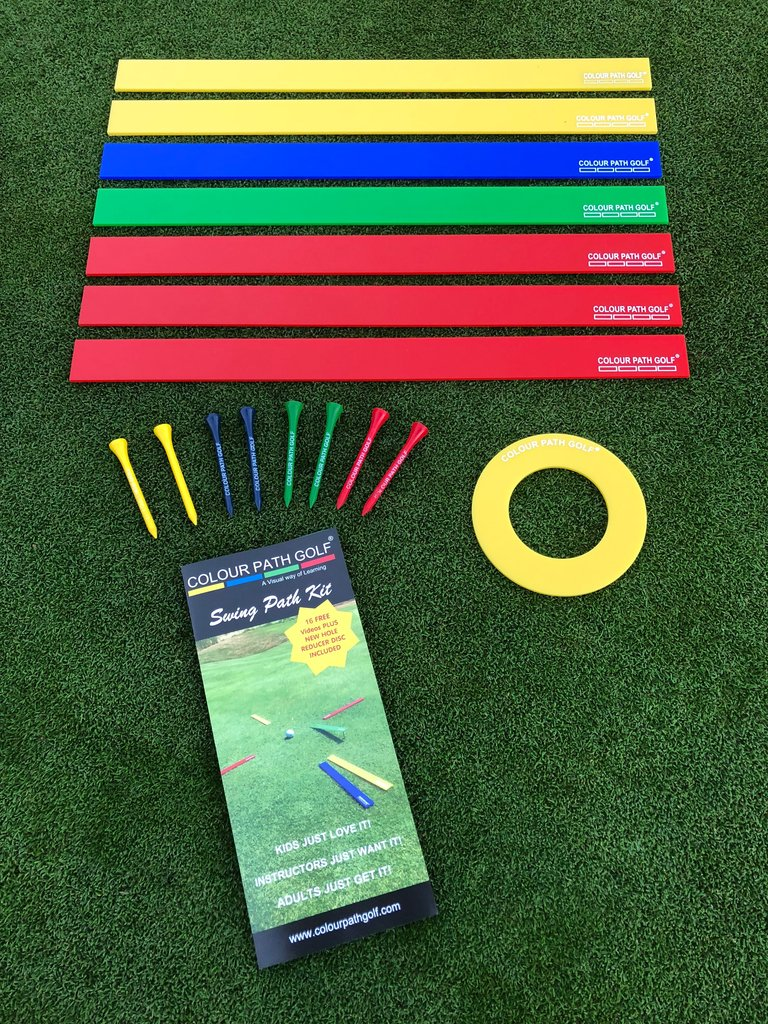 Colour Path Golf Swing Path Kit