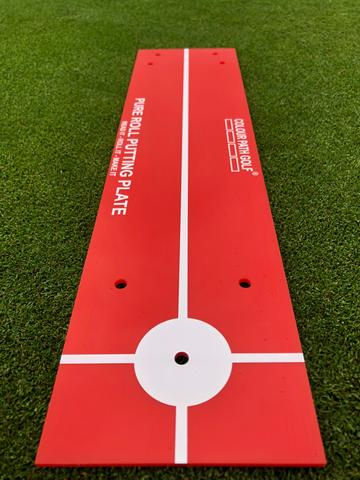 Pure Role Putting Plate by Colour Path Golf