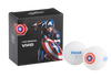 Volvik MARVEL Superhero Balls - 4 Vivid Balls with your favorite HERO!