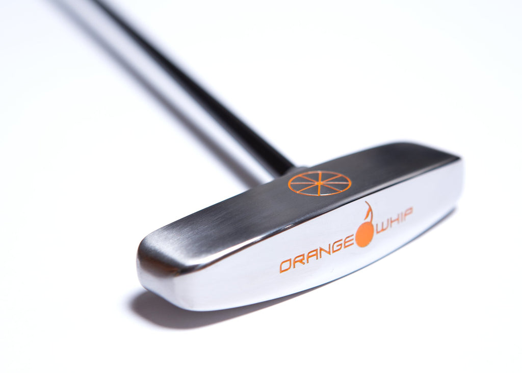 Orange Whip Putter Blade